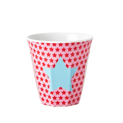 Kids Small Melamine Cup with Pink Star
