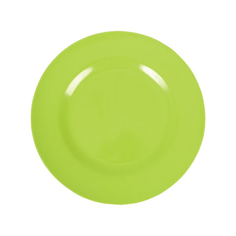 Green Melamine Kids Plate