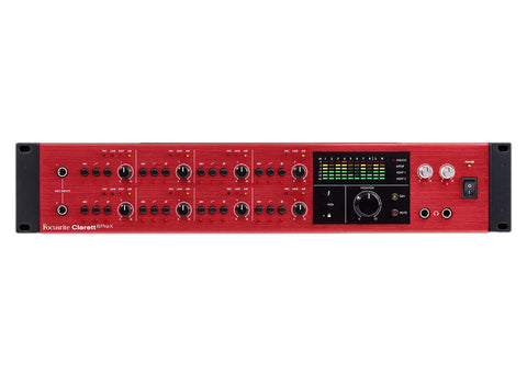 Focusrite Clarett 8PreX 26x28 Thunderbolt Interface