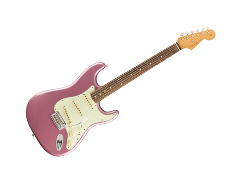 Fender Vintera '60s Stratocaster Modified Electric Guitar Pau Ferro/Burgundy Mist Metallic - 0149993366