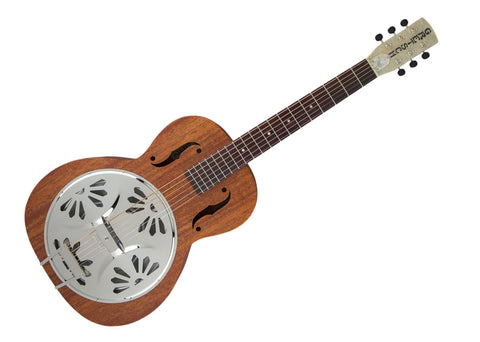 Gretsch G9200 Boxcar Round Neck Acoustic Resonator Guitar - Natural/Padauk - 2715013521