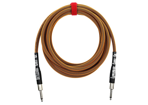 Rattlesnake Cable Company Standard 15 Foot Cable Straight to Straight Plugs - Copper