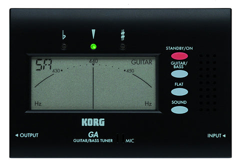 Korg GA-40 Guitar/Bass Tuner DEMO
