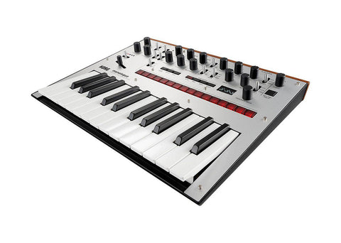 Korg Monologue Monophonic Analog Synthesizer with Presets - Silver DEMO