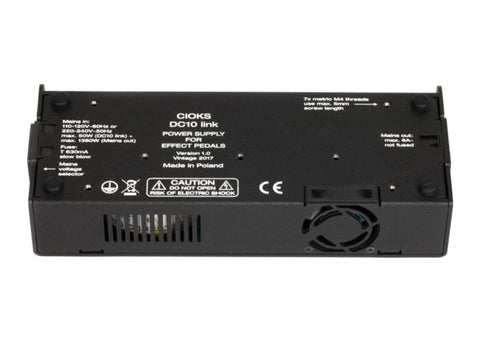 CIOKS DC10 Link - 10 Isolated Outlets, 9, 12 and 9-24v DC Power Supply