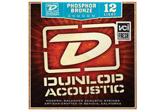Dunlop Phosphor Bronze Acoustic Guitar Strings Light Gauge 12-54 Demo