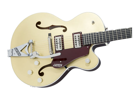 Gretsch G6118T-135 Pro LTD 135th Anniversary w/Bigsby Electric Guitar - 2-Tone Casino Gold/Dark Cherry Metallic/Ebony - 2401103844