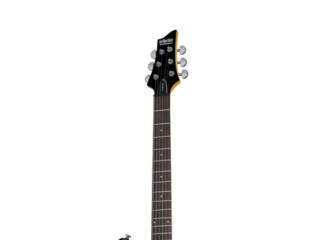 Schecter C-6 Plus Electric Guitar - Rosewood/Electric Magenta - 445