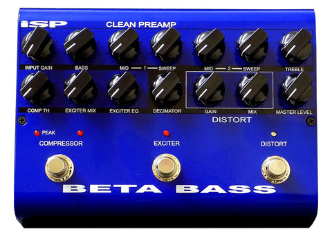 ISP Technologies Beta Bass Preamp Multi-Effects Processor