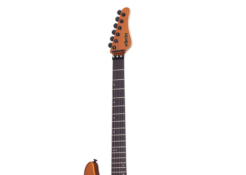 Schecter Sun Valley Super Shredder FR Electric Guitar - Rosewood/Lambo Orange - 1281