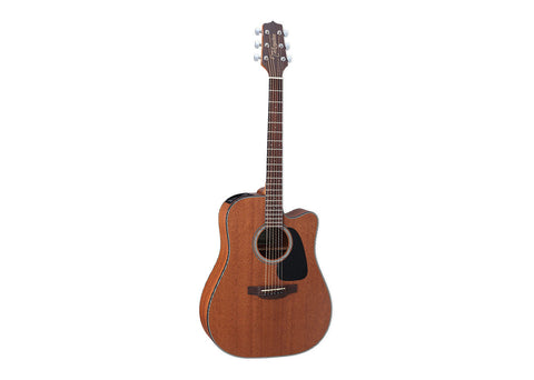 Takamine Guitars Dreadnought Acoustic guitar - Rosewood/Natural Satin Finish - GD11MCE