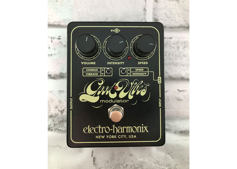 Electro-Harmonix Good Vibes Modulator Gently Used