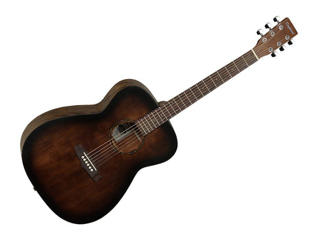 Tanglewood Crossroad Series Orchestra Body Style Hollow Body Acoustic Guitar - Rosewood/Whiskey Barrel Satin
