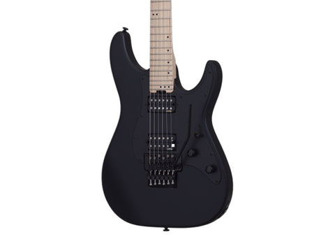 Schecter Sun Valley Super Shredder FR Electric Guitar - Maple/Satin Black - 1283