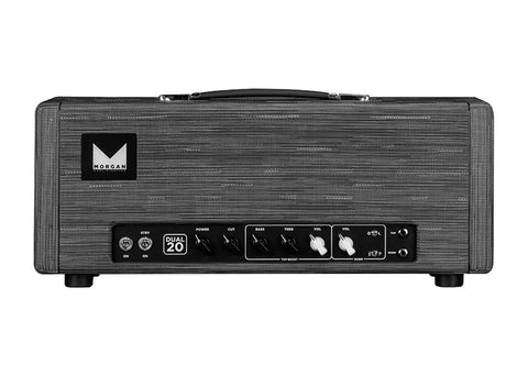 Morgan 20 Watts 2 Channel AC-Type Head With Power Scaling - Twilight Finish