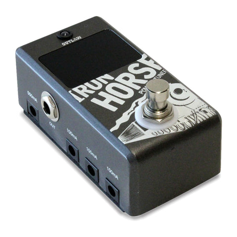 Outlaw Effects Iron Horse Power Supply and Tuner Pedal