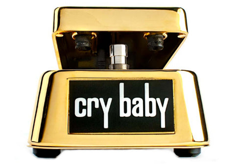 MXR GCB95G 50th Anniversary Gold Cry Baby Wah