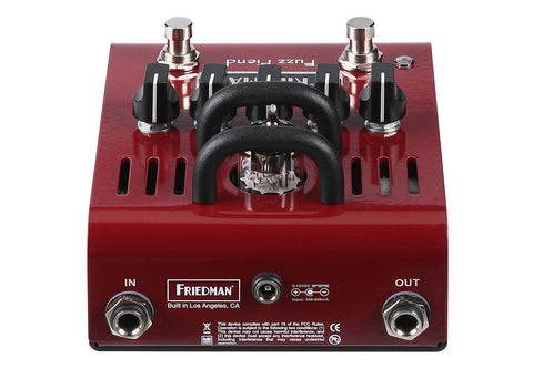 Friedman Fuzz Fiend 12ax7 Tube Powered Fuzz
