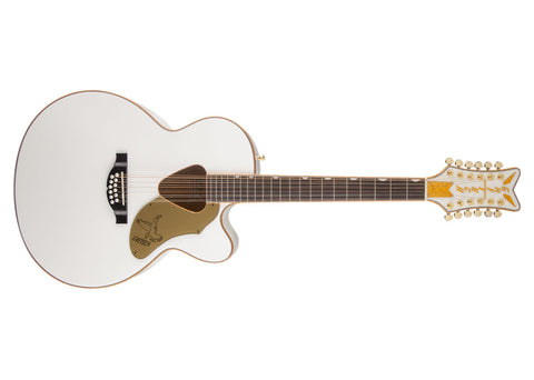 Gretsch G5022CWFE-12 Rancher Acoustic Guitar - White - 2714025505