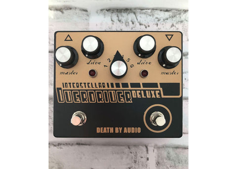 Death By Audio Interstellar Overdriver Deluxe Gently Used