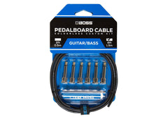 Boss Solderless Pedalboard Cable Kit - 6 Feet Gently Used