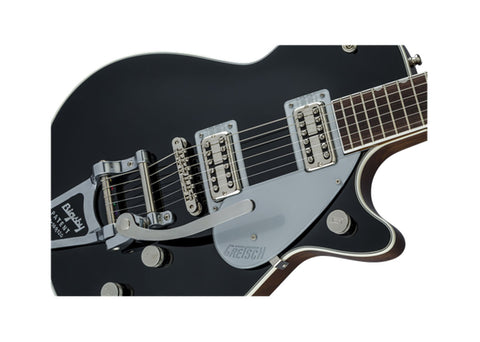 Gretsch G6128T Players Edition Jet FT w/Bigsby Solid Body Electric Guitar - Rosewood/Black - 2402400806