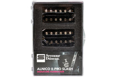 Seymour Duncan APH-2 Alnico II Pro Slash Signature Humbucker Set - Black - Demo