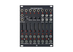 Malekko Voltage Block 8-Channel 16-Stage Cv Sequencer Black