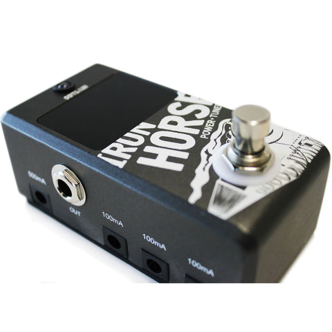 Outlaw Effects Iron Horse Power Supply and Tuner Pedal Demo