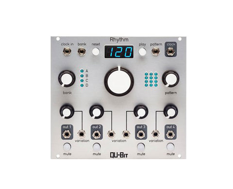 Qu-Bit Electronix Rhythm 4 Channel Pattern Generator
