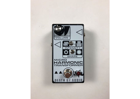 Death By Audio Micro Harmonic Transformer Fuzz Gently Used