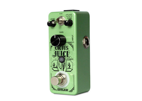 Outlaw Effects Cactus Juice 2-Mode Overdrive Demo
