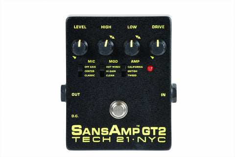 TECH 21 SansAmp GT2 Gently Used