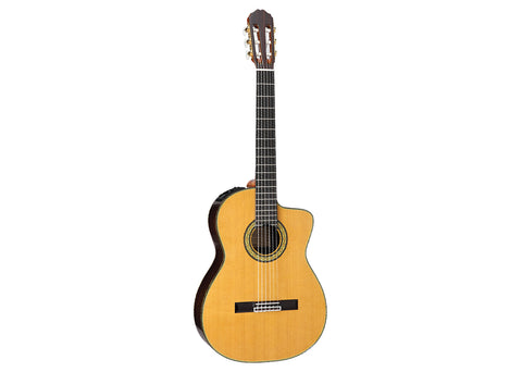 Takamine Guitars TH5C with Hirade Classical with Cutaway Acoustic Guitar - Solid Rosewood/Ebony - TH5C Demo