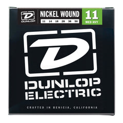 Dunlop Nickel Plated Electric Guitar Strings 11-50 Demo