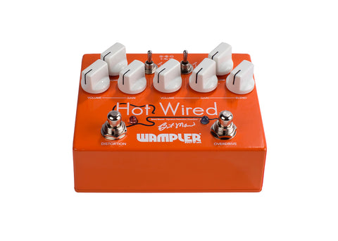 Wampler Hot Wired V2 Brent Mason Signature Overdrive Distortion