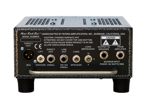 Rivera Mini RockRec Load Box/Speaker Emulation for Amps