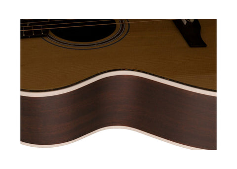 Paul Reed Smith SE Angelus Cutaway Acoustic/Electric Guitar - Ebony/Natural - 100950_NA