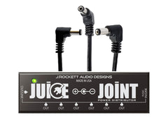 J. Rockett Audio Designs The Juice Joint Power Supply with Power Pack (7 Power Cables)