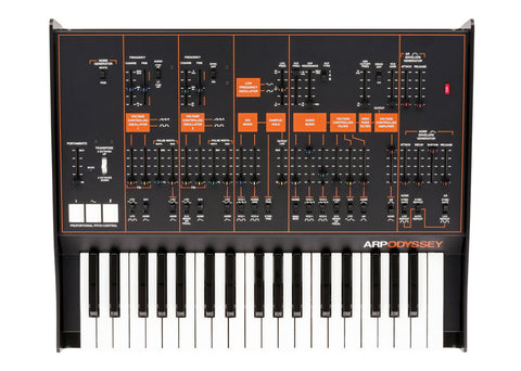 Korg Odyssey FS with ARP - Rev3 Duophonic Synthesizer
