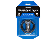 Boss Solderless Pedalboard Cable Kit - 2 Feet