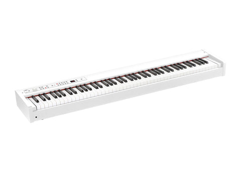 Korg 88-Key Digital Piano/MIDI Controller With RH3 Weighted Hammer Action - White