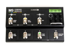 Line 6 M9 Stompbox Modeler Multi-Effects GENTLY USED