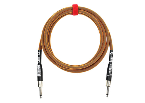 Rattlesnake Cable Company Standard 10 Foot Cable Straight to Straight Plugs - Copper