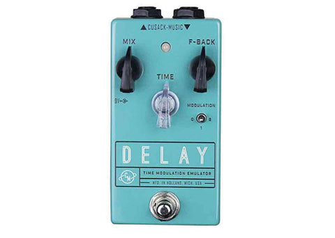 Cusack Music Delay Time Modulation Emulator Demo