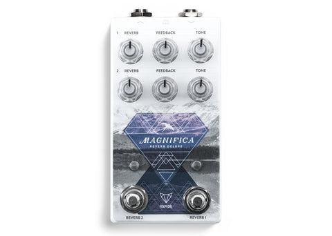 Foxpedal Magnifica Deluxe Dual Independent Channel Reverb