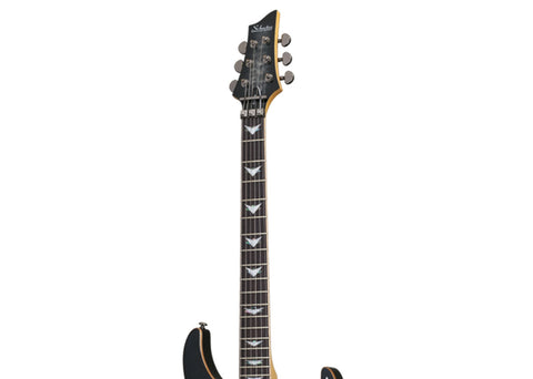 Schecter Banshee-6 FR Extreme Electric Guitar - Rosewood/Charcoal Burst - 1996