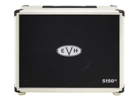 "EVH 5150 III 1X12"" Straight Cabinet Ivory"