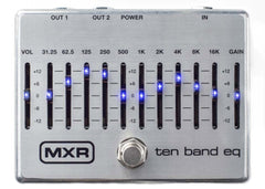 MXR M108S Ten Band EQ Demo
