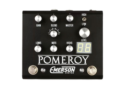 Emerson Custom Pomeroy Boost, Overdrive & Distortion - Black